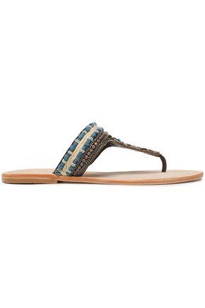 MANEBÍ Embellished leather sandals