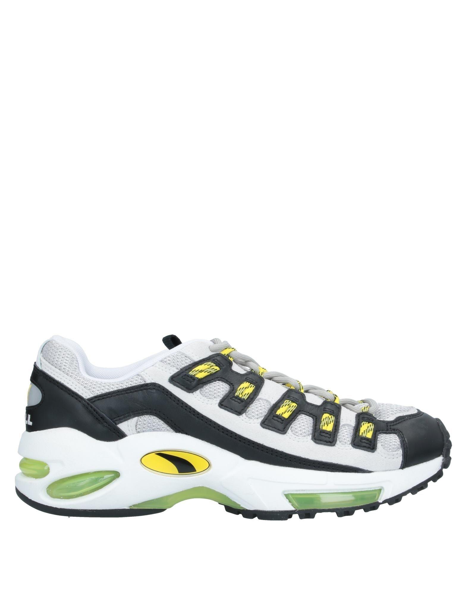 《セール開催中》PUMA CELL メンズ スニーカー&テニスシューズ(ローカット) イエロー 6 紡績繊維 CELL ENDURA
