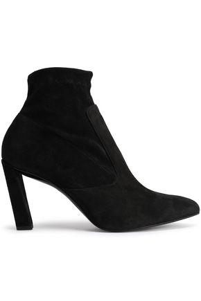 ROBERT CLERGERIE Suede sock boots