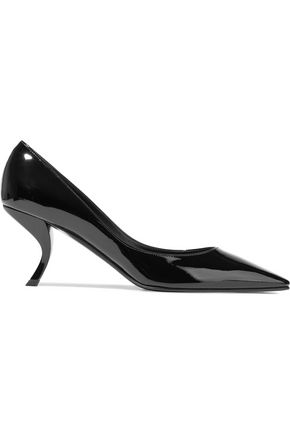 ROGER VIVIER Virgule patent-leather pumps