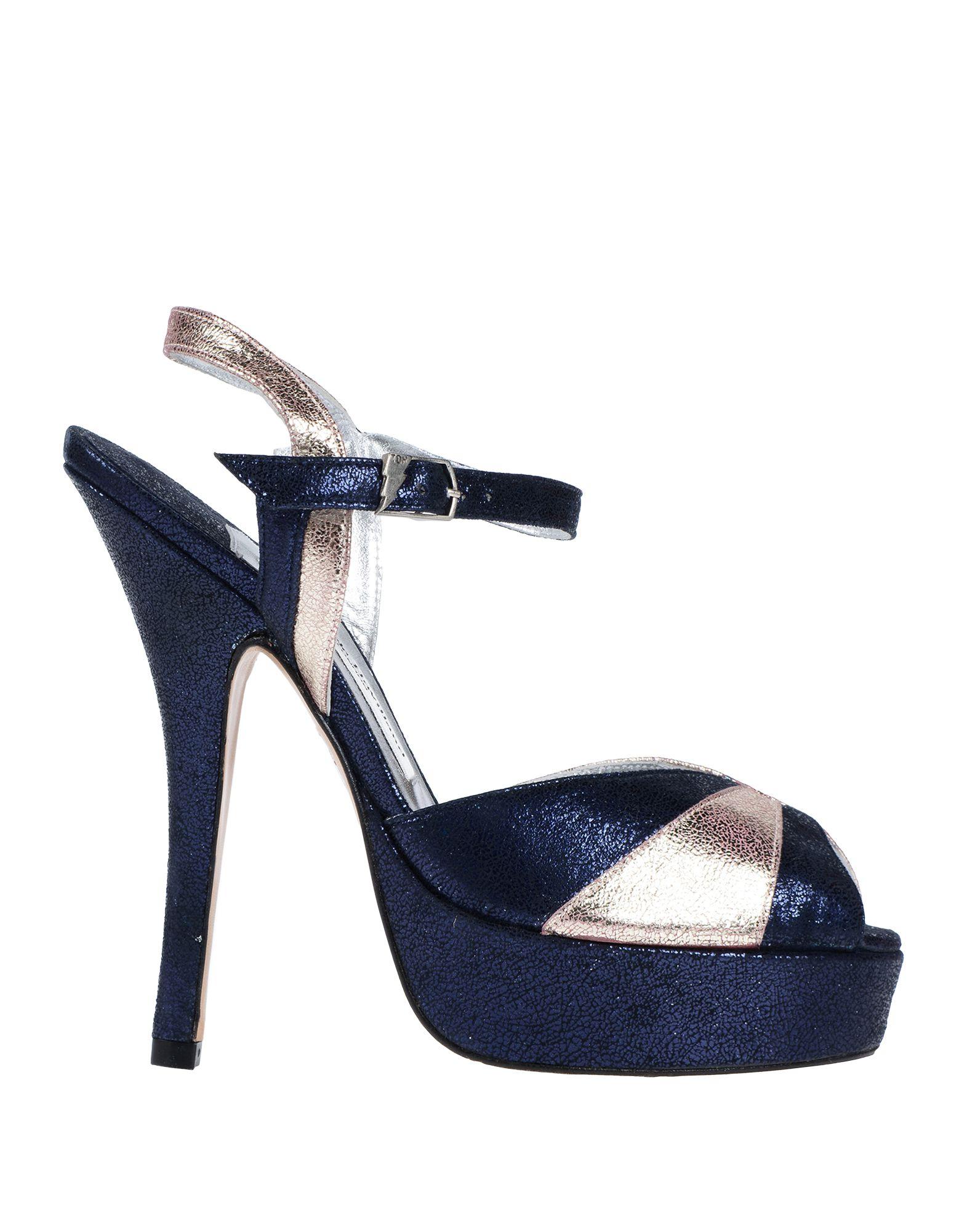 Terry De Havilland Sandals In Dark Blue