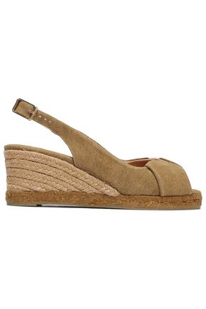 CASTAÑER Canvas wedge sandals