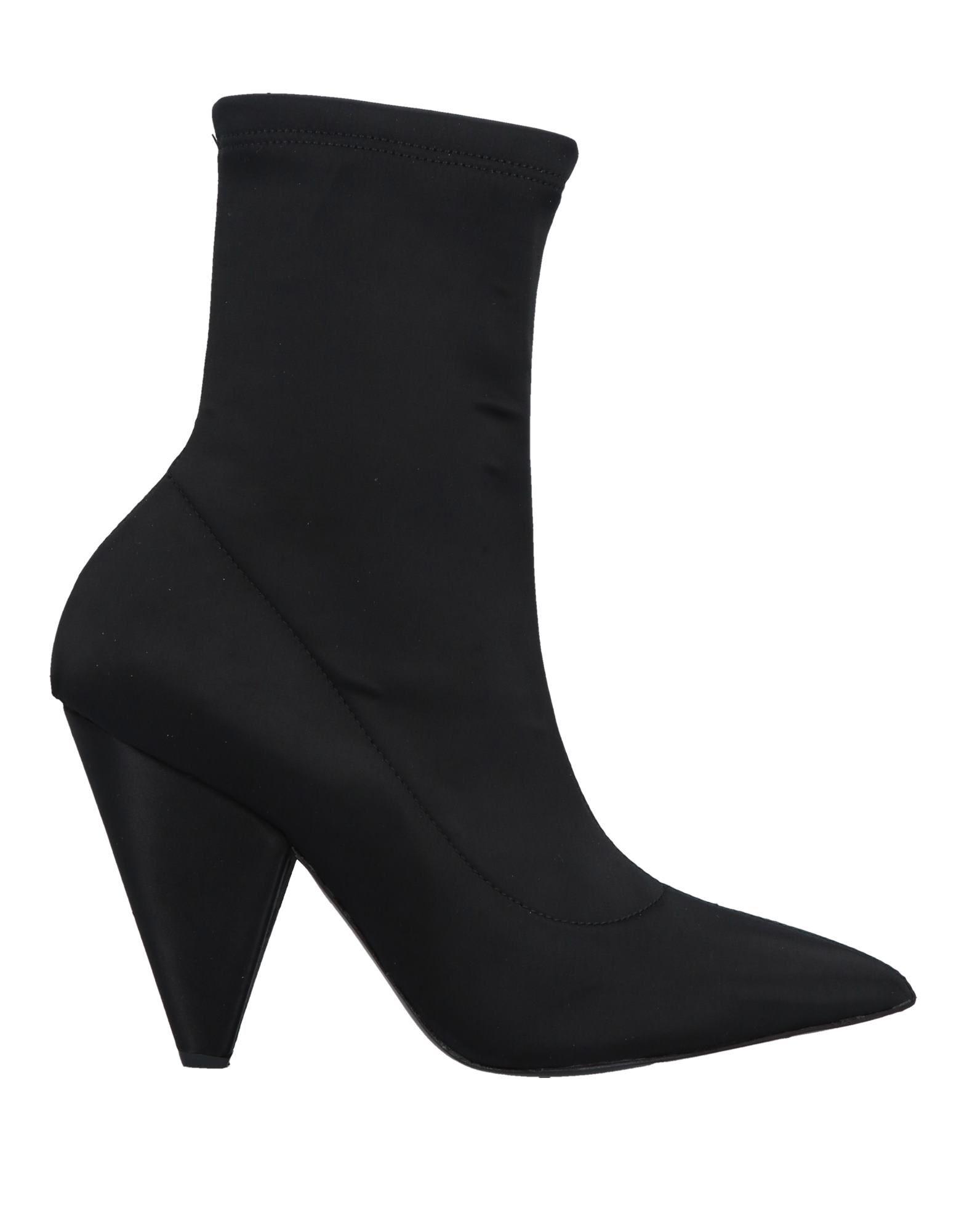 《期間限定セール中》SPAZIOMODA レディース ショートブーツ ブラック 36 紡績繊維