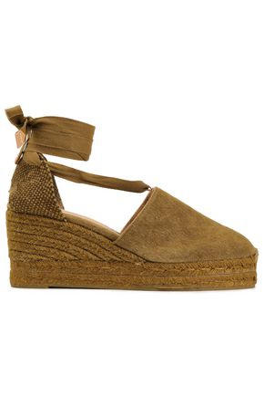 CASTAÑER Campesina cotton-canvas wedge espadrilles