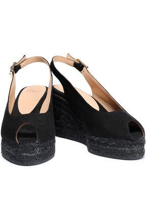 CASTAÑER Canvas wedge espadrille sandals