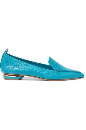 NICHOLAS KIRKWOOD Pebbled-leather loafers