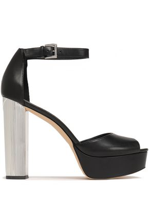 MICHAEL MICHAEL KORS Paloma leather platform sandals