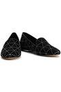 MICHAEL MICHAEL KORS Natasha studded suede slippers