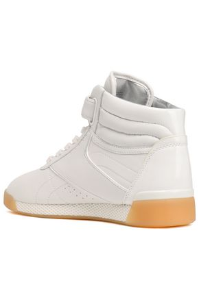 MICHAEL MICHAEL KORS Addie leather high-top sneakers