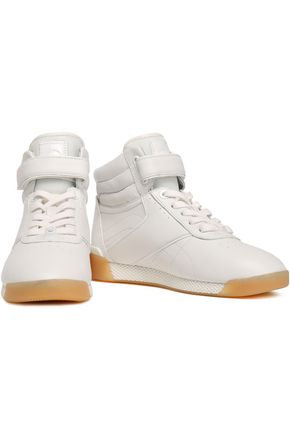 4a310cf5e60 Addie leather high-top sneakers | MICHAEL MICHAEL KORS | Sale up to ...