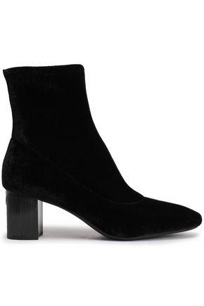 MICHAEL MICHAEL KORS Paloma velvet ankle boots