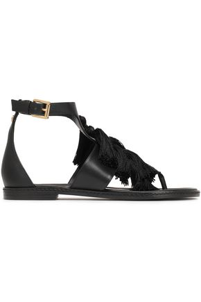 MICHAEL MICHAEL KORS Gallagher tasseled leather sandals