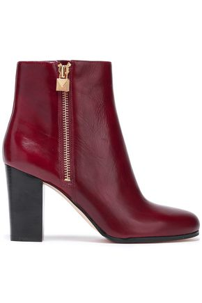 MICHAEL MICHAEL KORS Margaret leather ankle boots