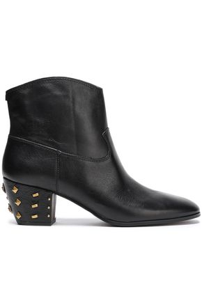 33217487050c8 MICHAEL MICHAEL KORS Studded leather ankle boots