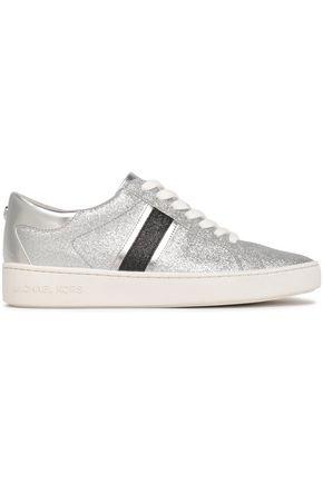 f1e7b18cc299 MICHAEL MICHAEL KORS Keaton glittered faux leather sneakers