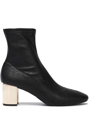MICHAEL MICHAEL KORS Paloma faux leather ankle boots