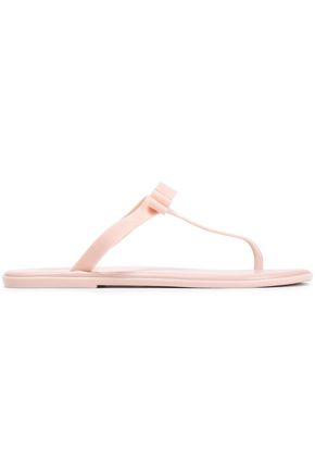 MICHAEL MICHAEL KORS Bow-embellished PVC sandals