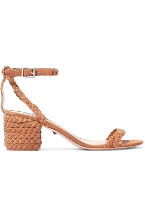 SCHUTZ Kandy braided suede sandals