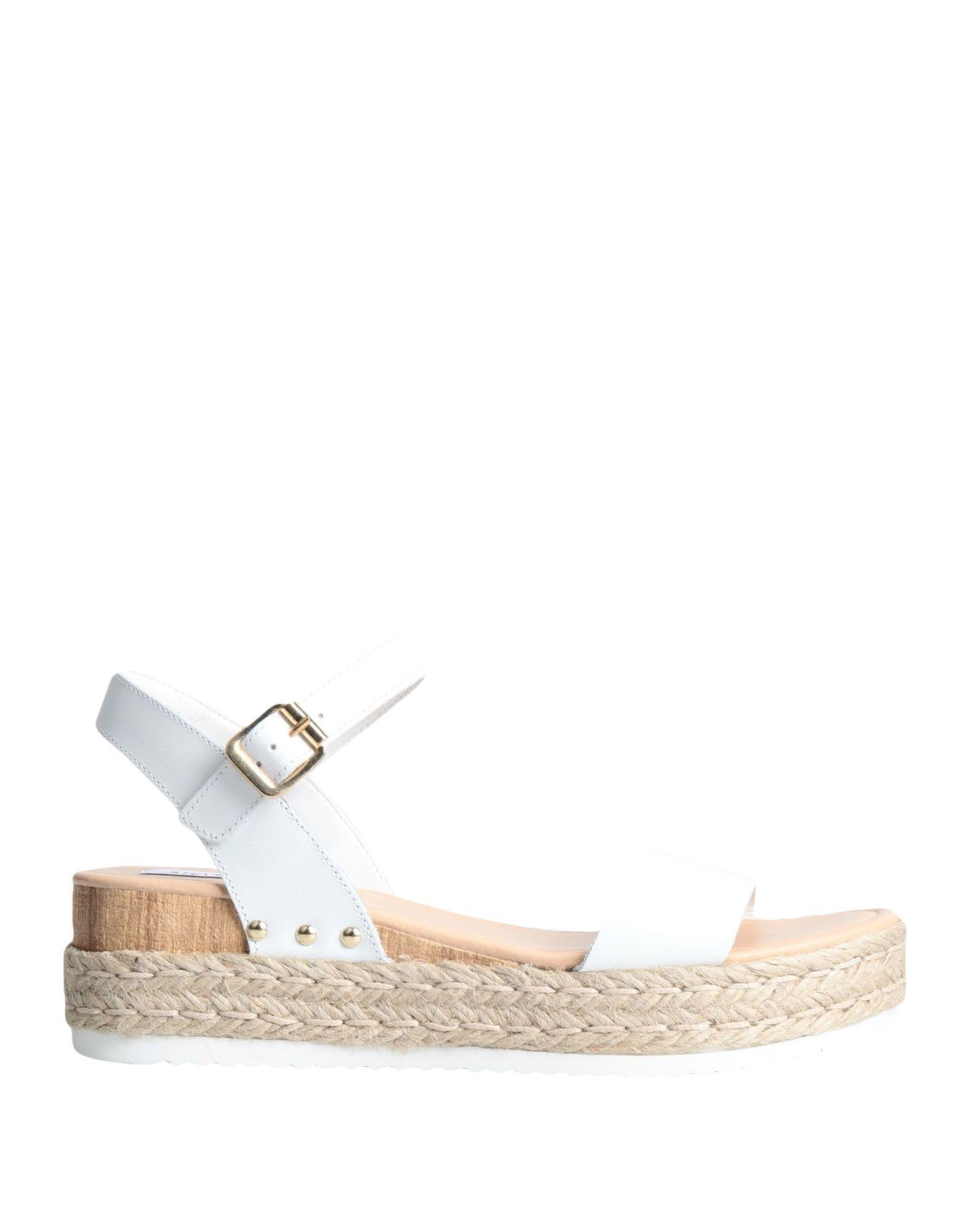 steve madden white sole sandals