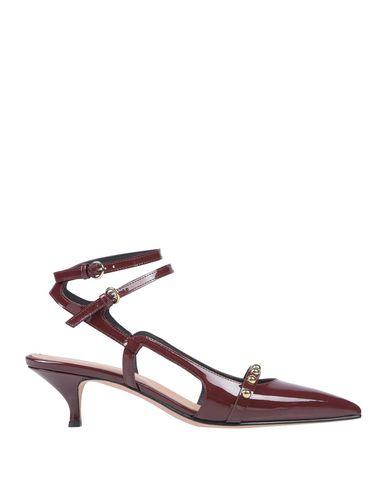Фото - Женские туфли RED(V) красно-коричневого цвета