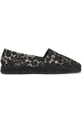 DOLCE & GABBANA Corded lace espadrilles