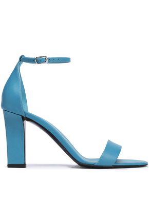 VICTORIA BECKHAM | Victoria Beckham Leather Sandals | Goxip