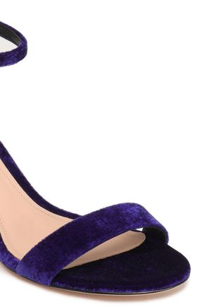 SCHUTZ Velvet sandals