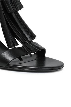 MICHAEL KORS COLLECTION Tasseled leather sandals