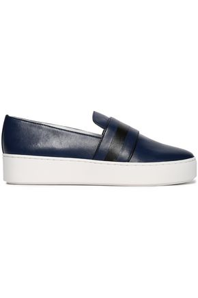 MICHAEL KORS COLLECTION Leather slip-on sneakers