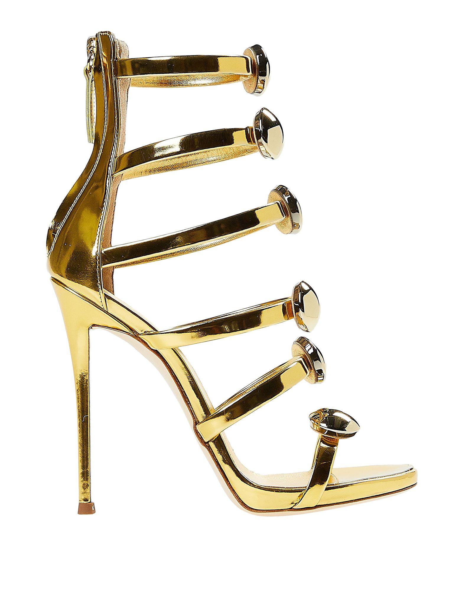 Giuseppe Zanotti Sandals In Gold   ModeSens