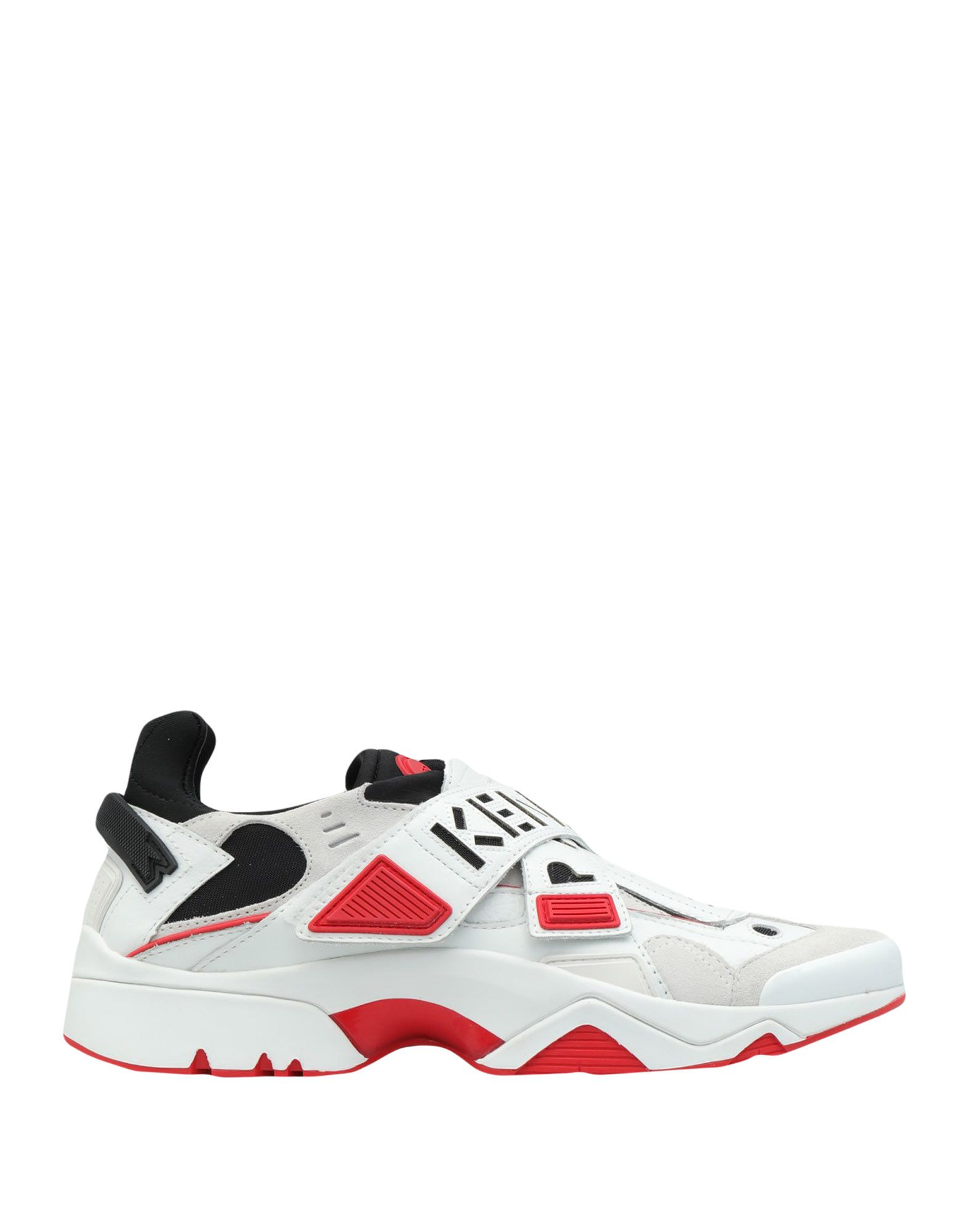 Kenzo Sonic Velcro Sneakers In White