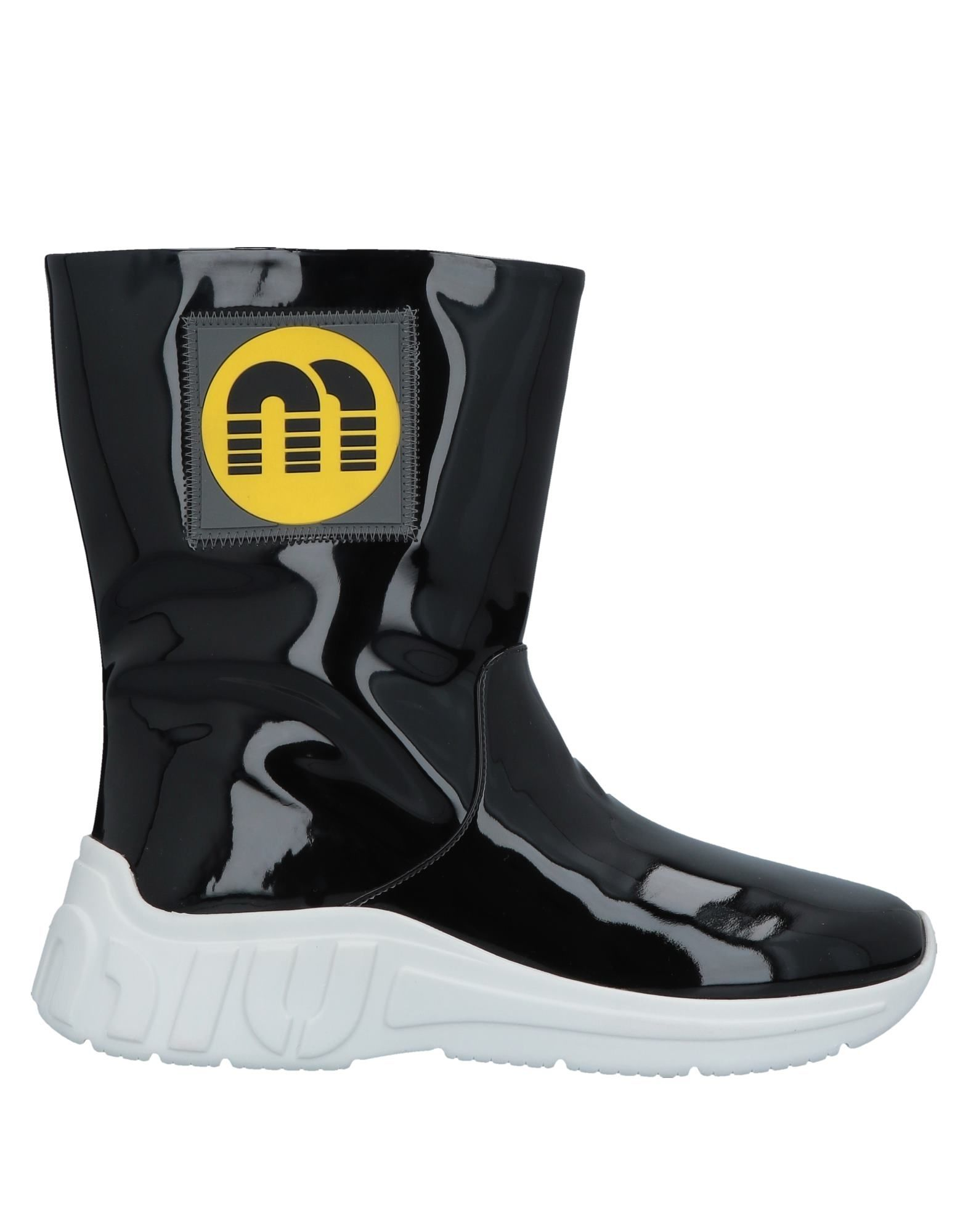 MIU MIU Полусапоги и высокие ботинки