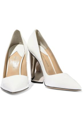 PAUL ANDREW Lotta 105 patent-leather pumps