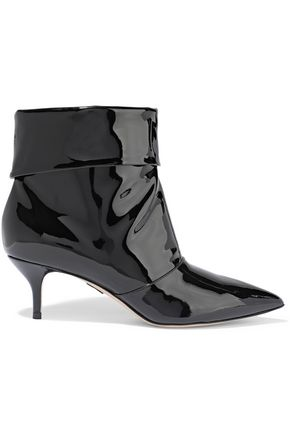 PAUL ANDREW Banner 55 patent-leather ankle boots