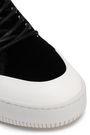 McQ Alexander McQueen Lace-up velvet sneakers
