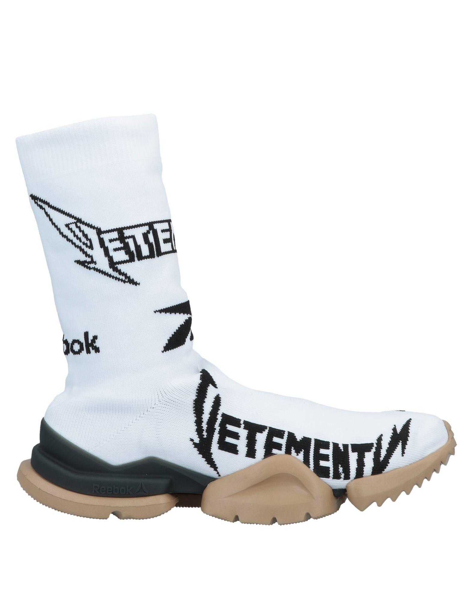 REEBOK x VETEMENTS Высокие кеды и кроссовки кроссовки reebok cl nylon color
