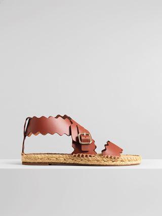 Lauren espadrille flat sandal