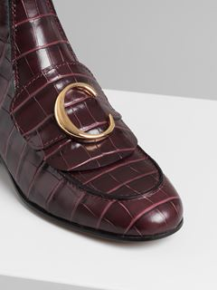 Chloé C flat Chelsea boot