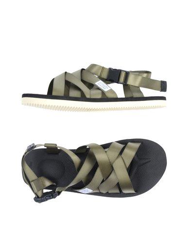 Фото - Мужские сандали SUICOKE цвет зеленый-милитари