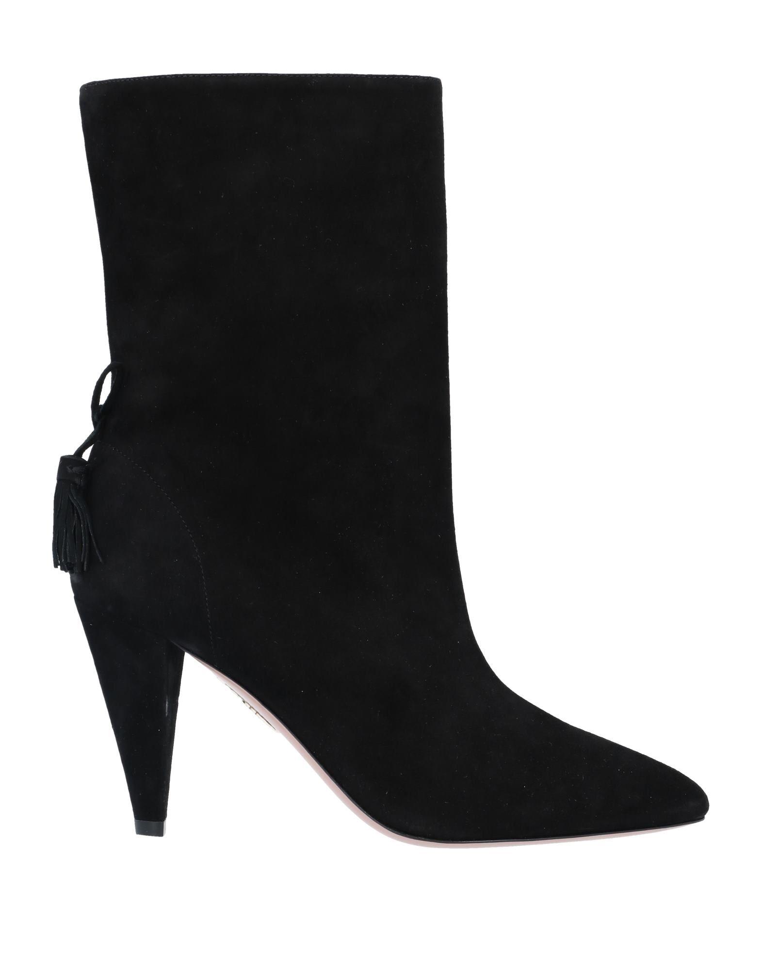 AQUAZZURA Полусапоги и высокие ботинки grey mer полусапоги и высокие ботинки