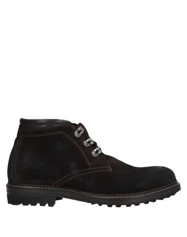 Фото - Полусапоги и высокие ботинки от FABRIZIO SILENZI темно-коричневого цвета