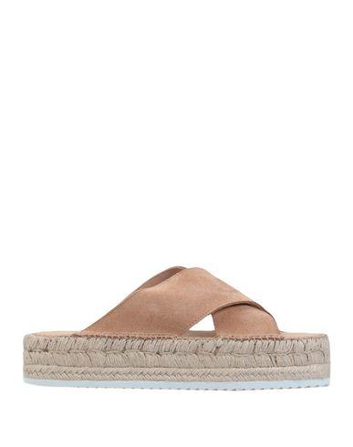 Фото - Женские сандали ESPADRIJ цвет песочный