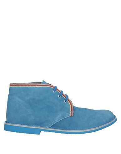 Купить Полусапоги и высокие ботинки лазурного цвета