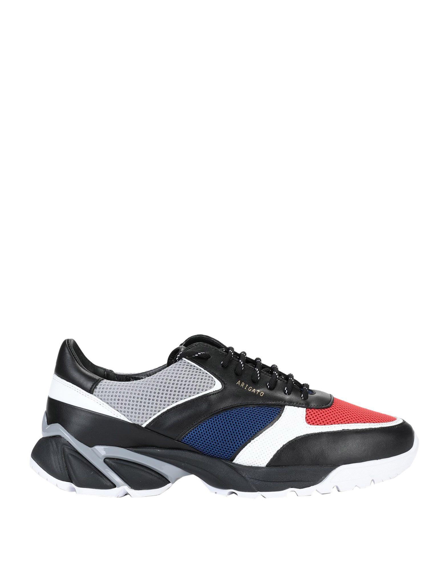 《セール開催中》AXEL ARIGATO メンズ スニーカー&テニスシューズ(ローカット) ブラック 41 革 / 紡績繊維 TECH RUNNER