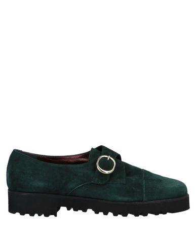 Фото - Женские мокасины SARA B Venezia темно-зеленого цвета