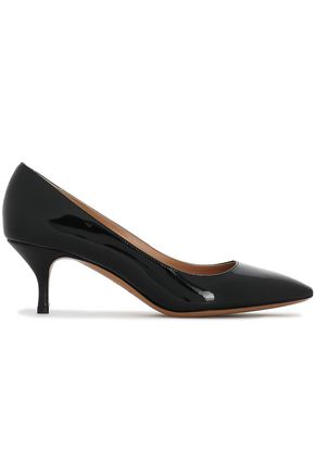 EMPORIO ARMANI Patent-leather pumps