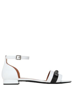 EMPORIO ARMANI Studded leather sandals