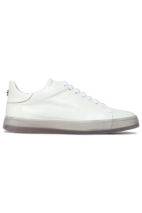 GIORGIO ARMANI Leather sneakers