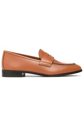 GIORGIO ARMANI Leather loafers