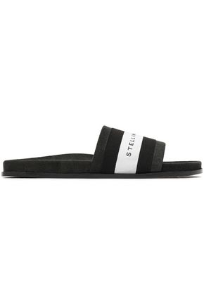 STELLA McCARTNEY Faux suede slides